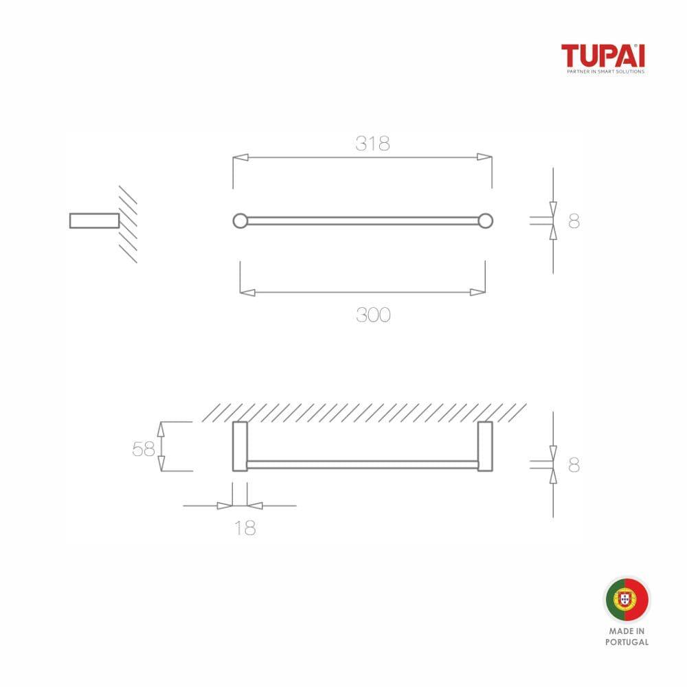 Desenho-tecnico-toalheiro-parede-tupai-latao-cromado-brilhante-6000-300-2
